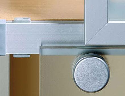 For overlay doors