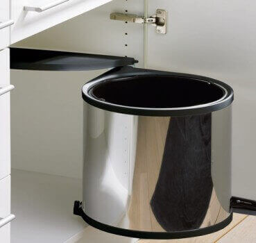 Easy to assemble dustbins