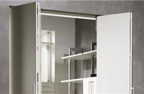 Folding door system