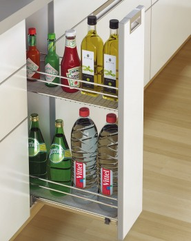 Bottle Pull Out For Cabinet 200mm Cargo Iq 200 Bottle Pull Out Base Unit Kitchen