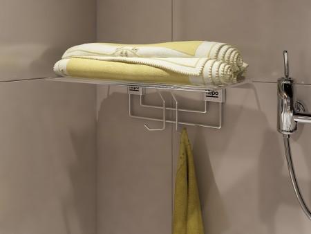 Hepo Stainless Steel 450 Mm Bathroom, Bathroom Accessories Towel Racks