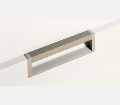 CAPRIS,Anodised aluminium,aluminium look,350 mm