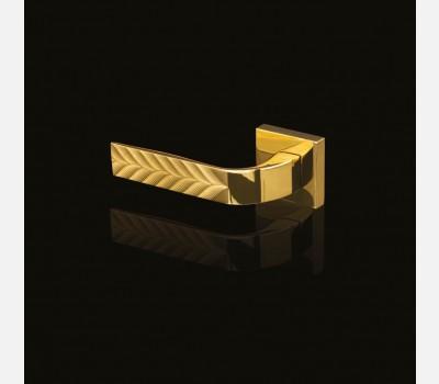 Hettich Prolock Luxury Collection Handle - Eidos Ninfa - Inox Brass Finish