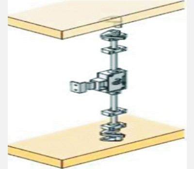 For 18-20 mm Door Thickness, Espagnolette Cabinet Lock
