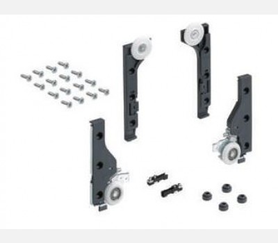 Hettich SLIDELINE M  Set without  Silent system