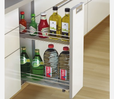 Hettich Bottle Pull out for Cabinet 150mm
