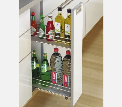 Cargo iq 200 bottle pull out base unit kitchen for 200mm kitchen wall unit