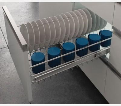 Hettich Cup & Saucer Wire Basket (386X600X100)