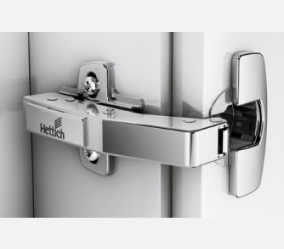 Hettich Sensys 8639i, 90 Degree Face Angle With Mounting Plate