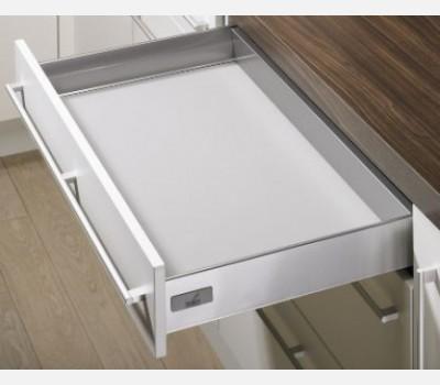 Hettich Innotech 620 mm Drawer Set, Silver, 50 Kg