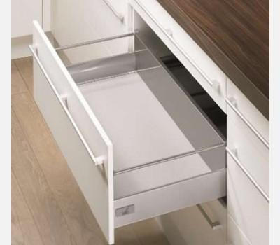 Hettich Innotech 350 mm Pot & Pan Drawer Set, Silver, 30 Kg