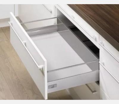 Hettich Innotech 470 mm Pot & Pan Drawer Set, Silver, 30 Kg