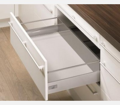 Hettich Innotech 420 mm Pot & Pan Drawer Set, Silver, 50Kg