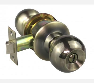 Hettich Antique Brass cylindrical knob HCK 02 for Room door
