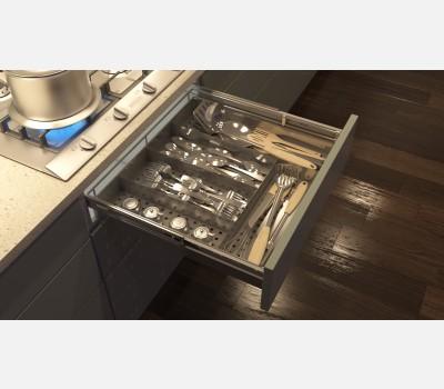 Hettich Cargo Cutlery Basket Width 486 (486 x 500x 94)