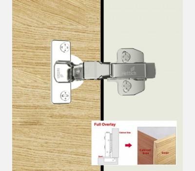 Onsys 4477, 0 Crank Door Hinge with Push to Open Application