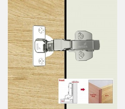 Onsys 4447, 16 Crank Door Hinge with Auto Closing System
