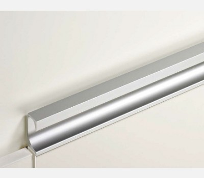 45 mm Profile for 4-5 mm Glass  , Stainless Steel