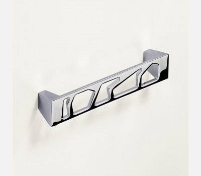 Hettich Modern Bright Chrome Plated Cabinet Handle, 143 mm