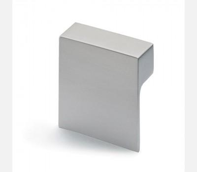 Hettich Modern Stainless steel look Knob, 60 mm